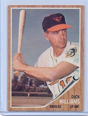 1962 Topps #382 Dick Williams