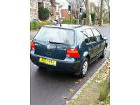 VOLKSWAGEN GOLF 2001 FOR SALE IN PERFECT CONDITION