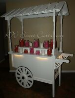 Beautiful Vintage-style Candy Carts & more!