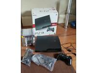 BLACK PS3 SLIM 160 GB BOXED CALL OF DUTY BUNDLE