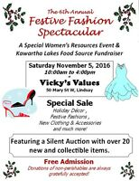 Vicky's Values Festive Fashion Spectacular