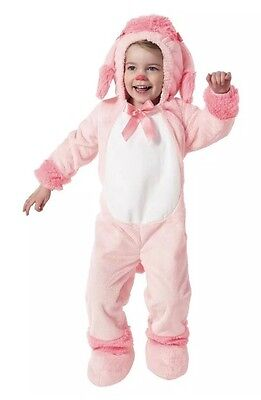 NWT Girls Pink Toddler Poodle Jumpsuit  Halloween Costume 18-24 Month Cute!!! - Poodle Costume Toddler