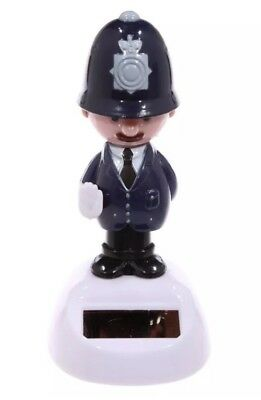 Dancing British Policeman Solar Pal Novelty Solar Powered Moving Toy - Solar Novelties