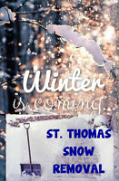 Residential Snow Removal for St Thomas