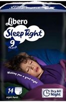 Libero Night Comfort Size 9 22-37kg - Children's Nappy, Pull Ups - Case Of 4 - libero - ebay.co.uk