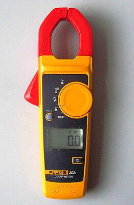 Fluke F302 Digital Clamp Meter Multimeter Tester W Carrying Bag New Usa Seller