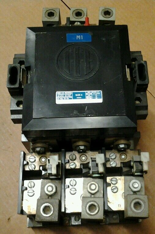 ITE / Gould A203F Motor Starter Size 4 220Vac@60Cy Coil 100 HP 150Amp 3PH 600VAc