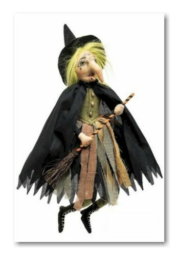 Hortense Little Witch Halloween Witch Joe Spencer Gathered Traditions FGS75665