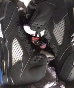 Air Jordan V Metallic Black size 11.5