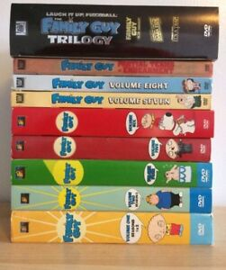Family Guy Seasons on DVD 1-8 + lost episodes and box set