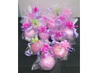 16 Bagged Bathbombs Great Presents Stocking Fillers Great for Resale and they Smell Lovely Carboot