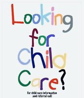 CHILDCARE -Full time/Part time/Occasional care