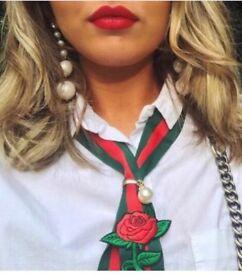 Neck Tie - Inspired Fashion Designer On Trend Silk Neck Ties - Hand Made