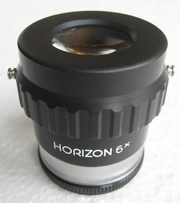 #1479 Zenit / Horizon Standlupe Lupe 6X  Magnifier (ohne Skala / without scale )