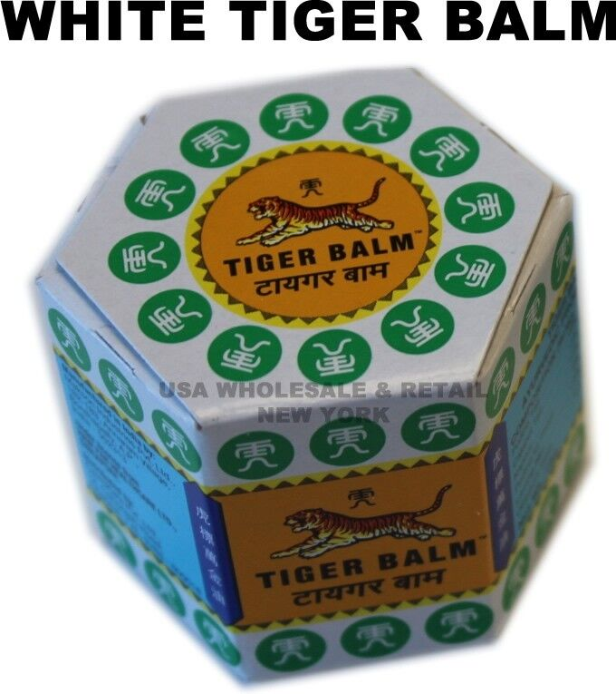 12 X 18g White Tiger Balm Usa Seller