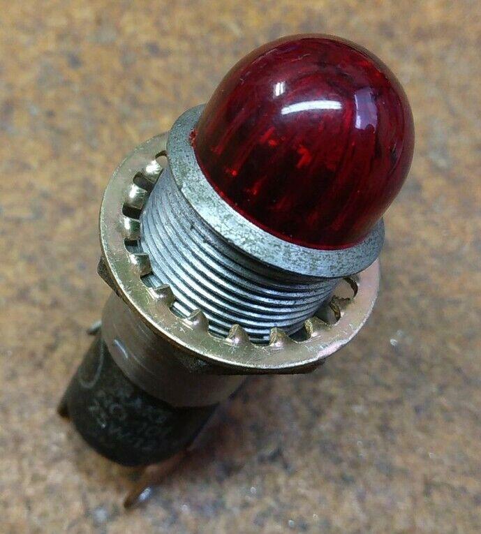 Drake Indicator Pilot Panel Lamp #101 75W 125V Industrial Electronics DIY Repair