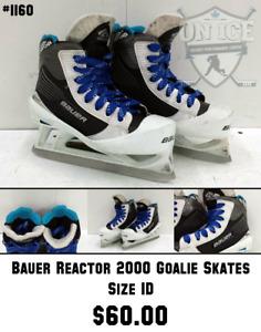 Used Goalie Skates Assorted Sizes