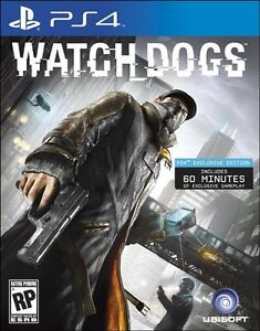 Watch Dogs PS4 - Excellent Quality