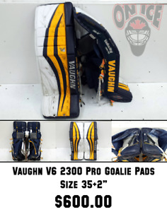 Used Goalie Pads Assorted Sizes