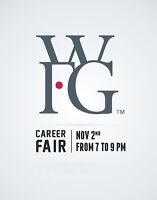 Career Fair - Wed Nov 2nd at 7 PM till 9 PM in Westboro area