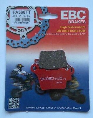 """KTM EXC 250 / Six Days (2004 to 2015) EBC """"TT"""" REAR Brake Pads (FA368TT) (1 Set)"""