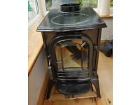 The aspen wood burning stove