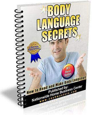 BODY LANGUAGE SECRETS PDF EBOOK FREE SHIPPING RESALE RIGHTS