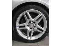 Mercedes 19 inch AMG Wheels with new tyers