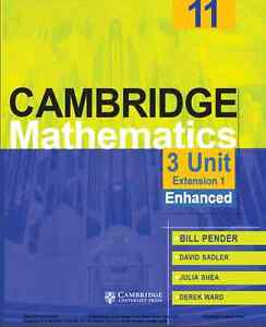 cambridge maths yr11 3u pdf ebook textbook second hand used new Sydney City Inner Sydney Preview
