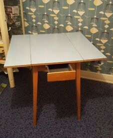 Retro formica drop leaf table 1960's
