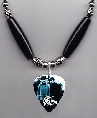 Arctic Monkeys Band Photo Guitar Pick Necklace - #2