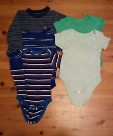 Boys vests. 6-9 and 6-12 months bundle