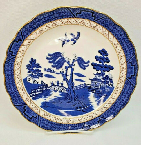"""Booths Real Old Willow Royal Doulton Majestic Collection Dinner Plate 10.5"""""""