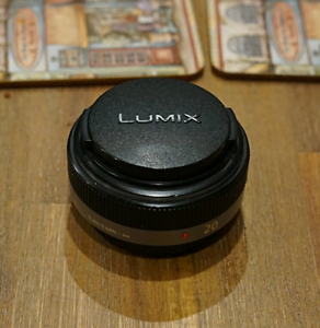 Panasonic Lumix 20mm 1.7 lens for micro four third system Willetton Canning Area Preview