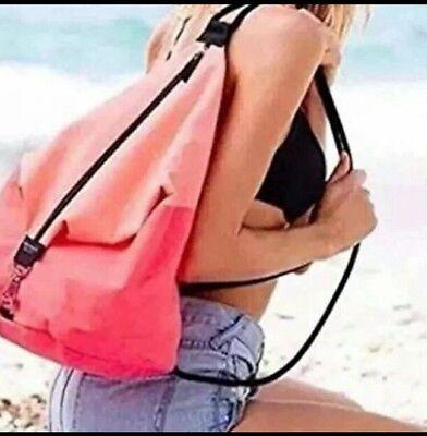 Victorias Secret VS Backpack Tote Pink NWT
