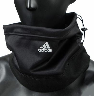 Adidas Black Neck Warmer, Climawarm, Gaiter Tube Fleece Free Size