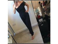 Mela Loves London Black Jumpsuit - Size 12