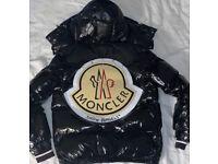 Moncler x palm angels maya coat