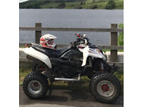Polaris predator 500 road legal race quad