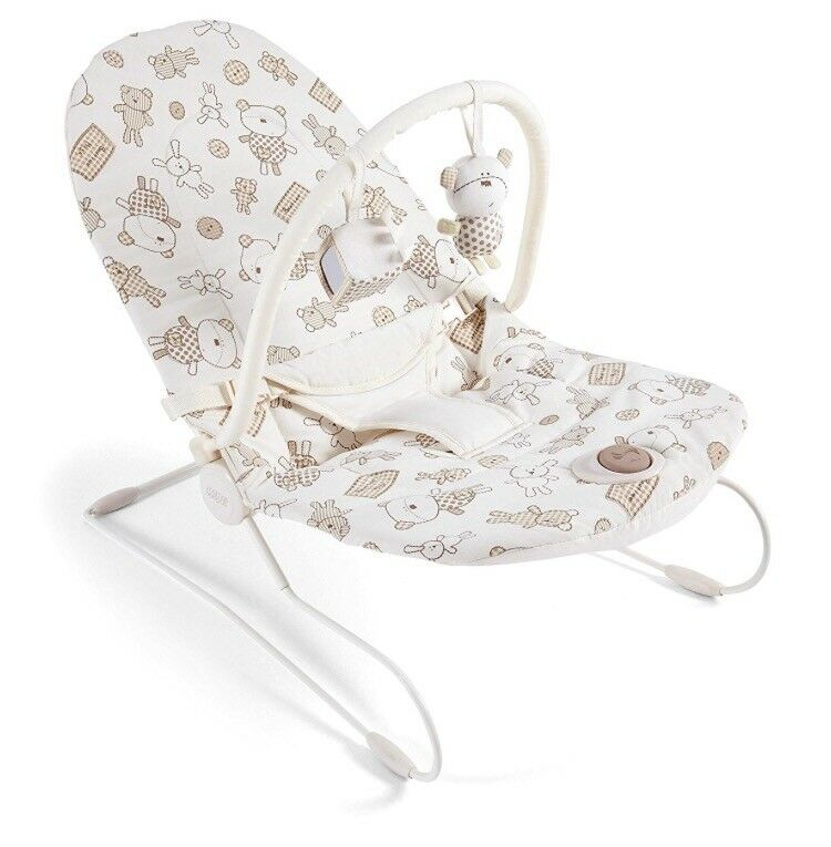 GREAT CONDITION MAMA AND PAPAS BABY BOUNCER £8