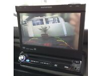 Bargain !! Single din cd DVD player aux sd usb