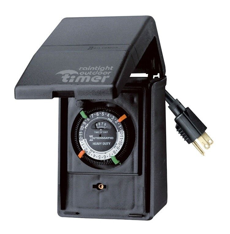 Intermatic HB11KD89 Portable Outdoor Timer, 15 Amp