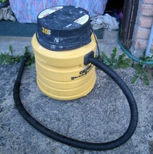 Large very Powerful 10 Gal 3 HP Genie Wet/Dry Shop Vac in great