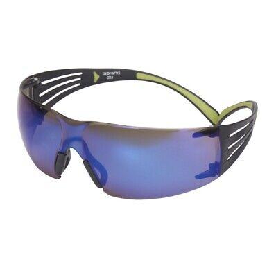 3M™ SecureFit™ 400 SF408AS blau verspiegelt / schwarz-grün Schutzbrille