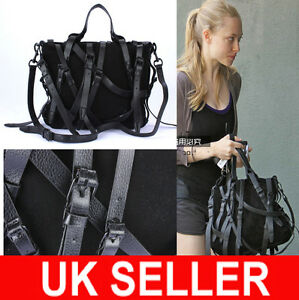 LATEST-Designer-Celebrity-Multi-Strap-Faux-Suede-X-body-Satchel-Messenger-Bag