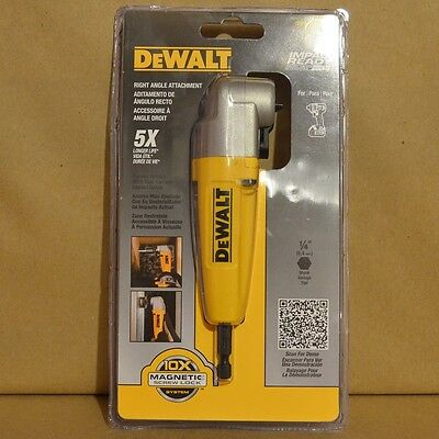 Brand New DEWALT DWARA100 Right Angle Adapter Attachment