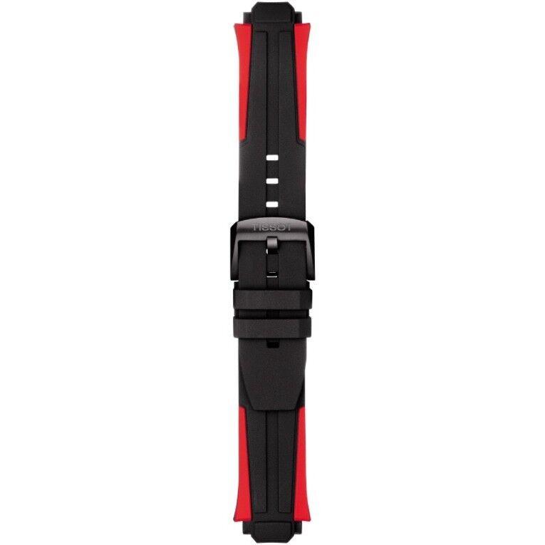 Tissot Uhrenband Silikon / T-RACE CYCLING (T111417) / T603040970