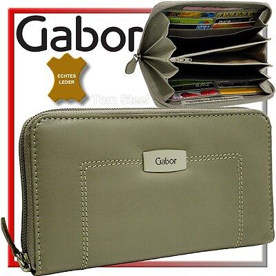 Gabor Damen Portmonee Brieftasche Purse Geldbeutel Geldbörse Zip Purse Angebot