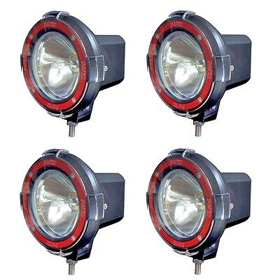 6000k Xenon Hid Fog Light (4 inches 4x4 Off Road 6000K 55W Xenon HID Fog Lamp Light 4pcs-Spot Light 4-LP-4S )