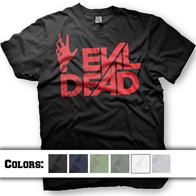 Evil Dead Tshirt  2013 Army Of Darkness Horror  Multiple Shirt Colors And Ink